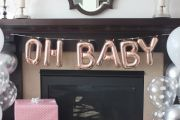 Oh Baby 16-in Banner